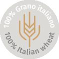 pasta prodotta da grano 100% italiano